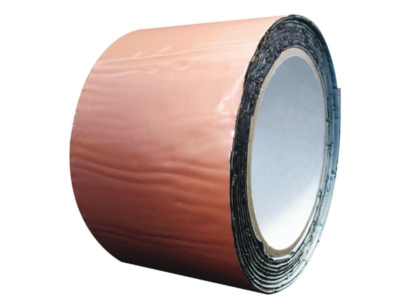 Banda de etansare bituminoasa 10 cm*10 m Caramiziu
