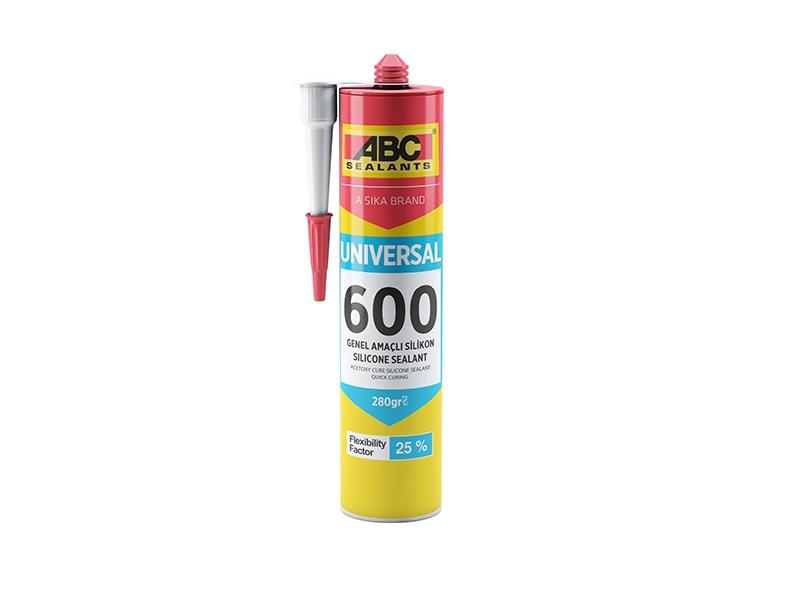 SILICON UNIVERSAL ALB ABC 600/280 gr