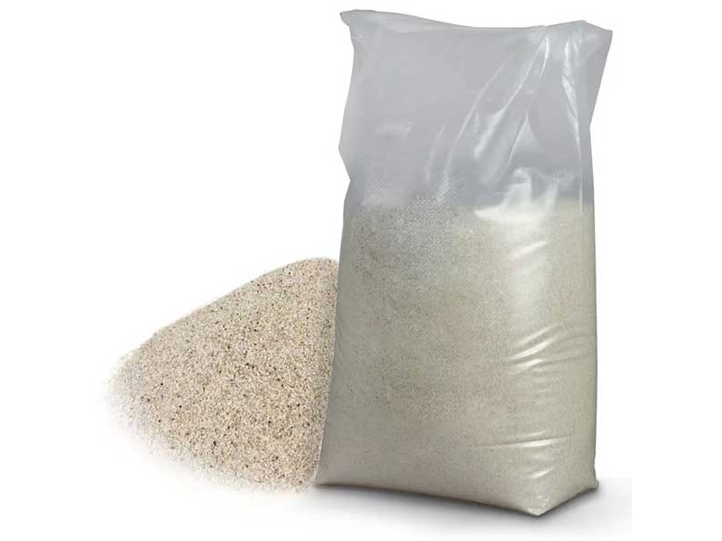 Nisip spalat 25 kg 1 pal=50 saci 1 SAC=0.02 M3