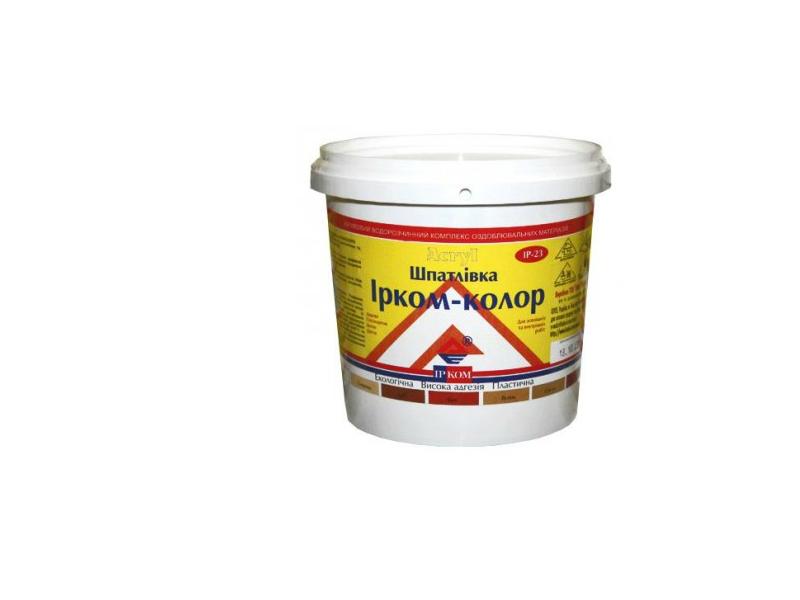 Glet p/u lemn Ircom-Color 0.7 kg alb