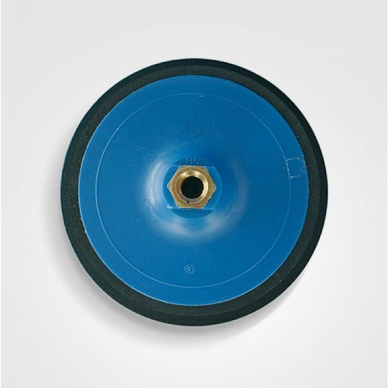 Suport disc velcro albastru 30/120.