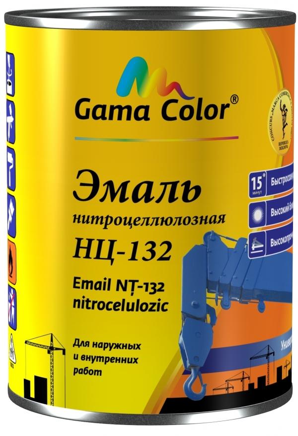 Email NC-132 negru 0.8 kg nitroemal