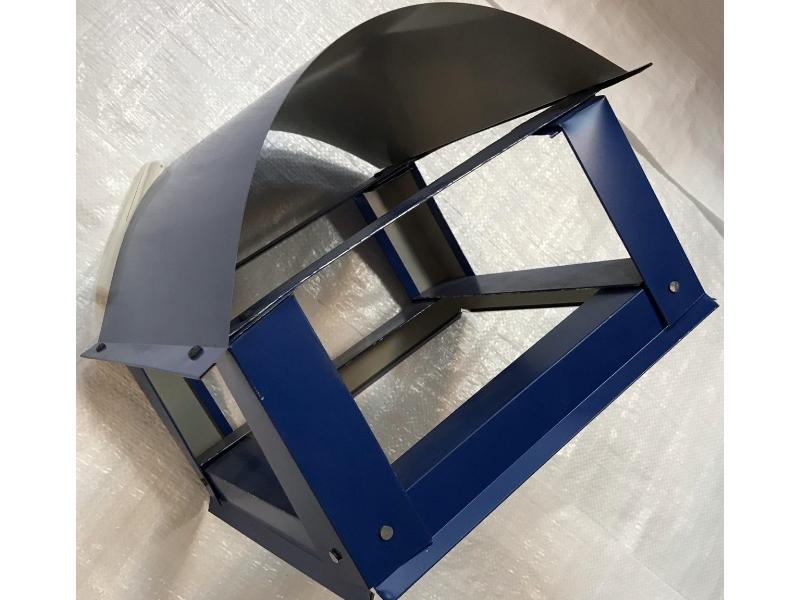 Capac rotund mic(d170)- albastru