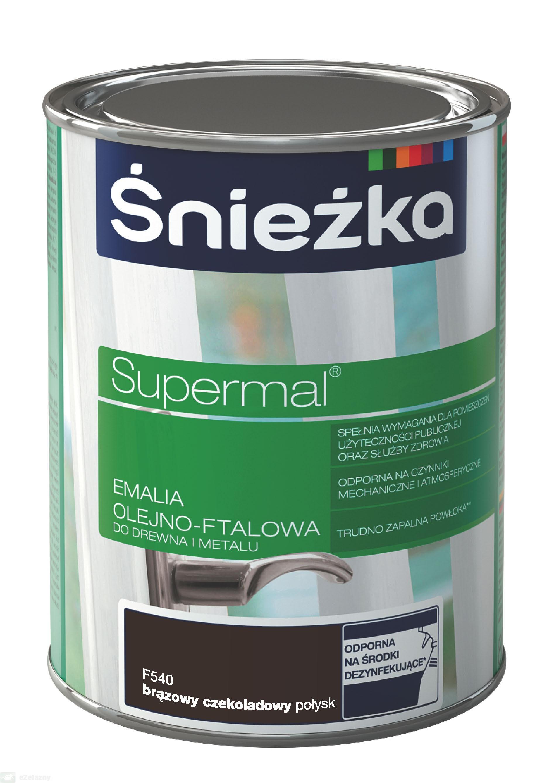 Supermal Sniezka maro-ciocolatiu 0.8 L F540
