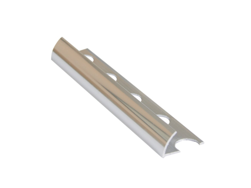 Profil alu.10 mm,exter 2.5m,Gold Matt Z10