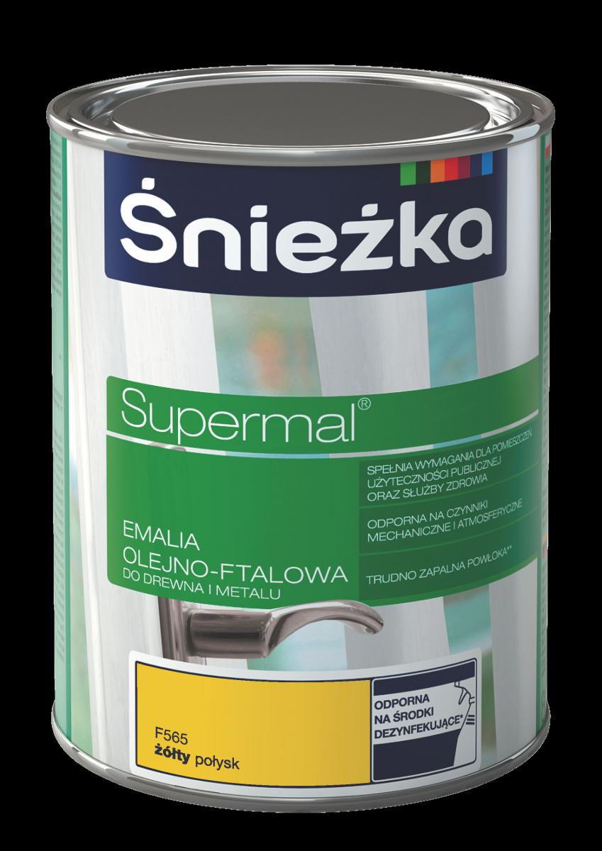 Supermal Sniezka Galben 0.8 L F565