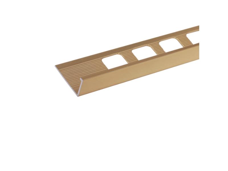 Profil alu.de colt 10 mm,2.5m, Silver Matt L10