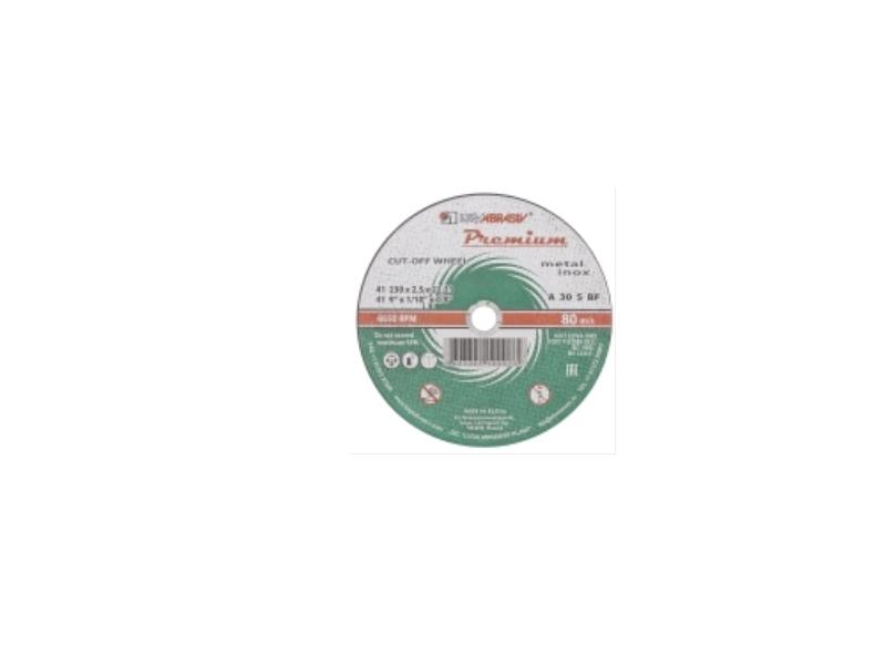Disc 115*1.6*22.23 A54 S BF 80 2 metal Premium Luga ( 25 buc/pac )