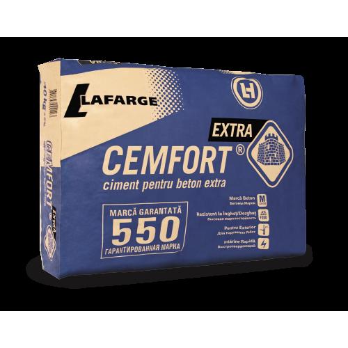 Ciment 42.5 R (M550 Cemfort Extra) 40 kg LAFARGE 40 saci/pal