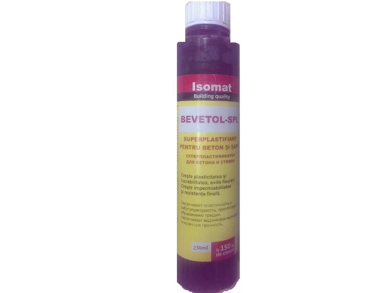 IS Bevetol SPL superplastifiant p/u beton 0.25L