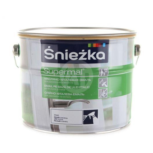 Supermal Sniezka Alb Lucios 5 L Ral9003 F500