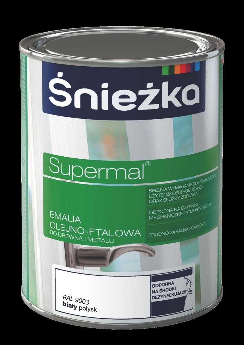 Supermal Sniezka Alb Lucios 0.4 L