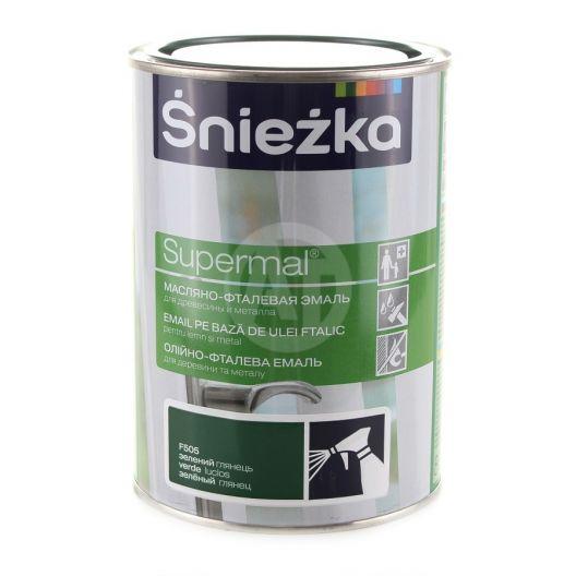 Supermal Sniezka Verde Lucios 0.8 L RAL 6002