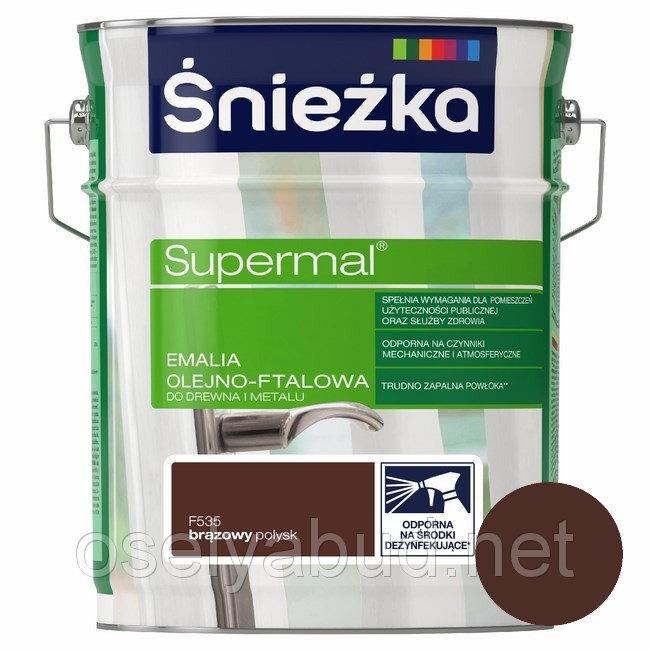 Supermal Sniezka Maro 2.5 L RAL 8016