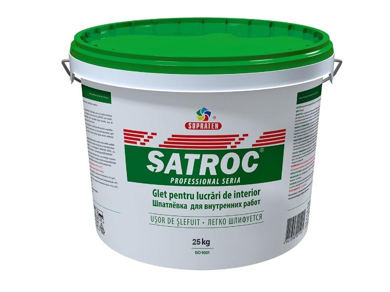 Glet interior Satroc 25 kg