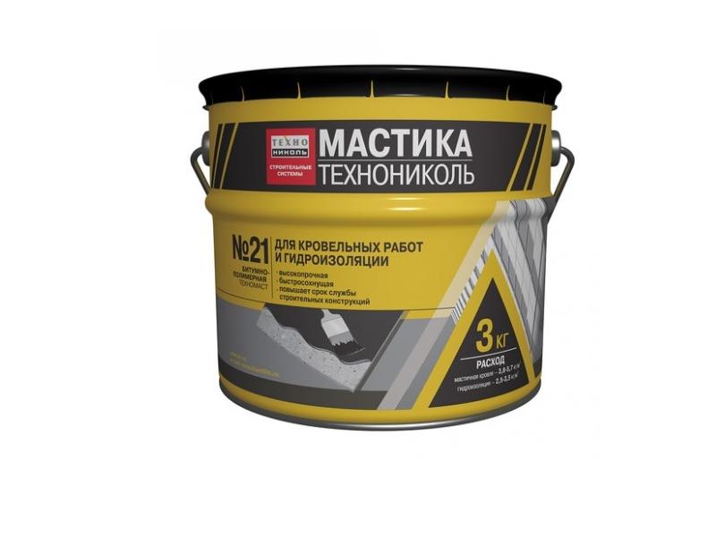 Mastica p/u acoperis si hidroizolare Nr.21 3kg