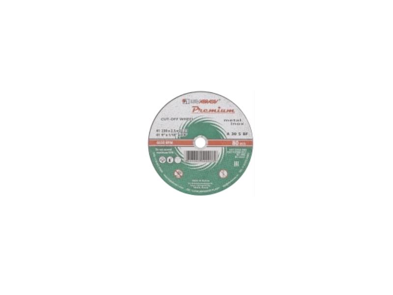 Disc 115*1.0*22.23 A54 S BF 80 2 metal Premium Luga ( 25 buc/pac )