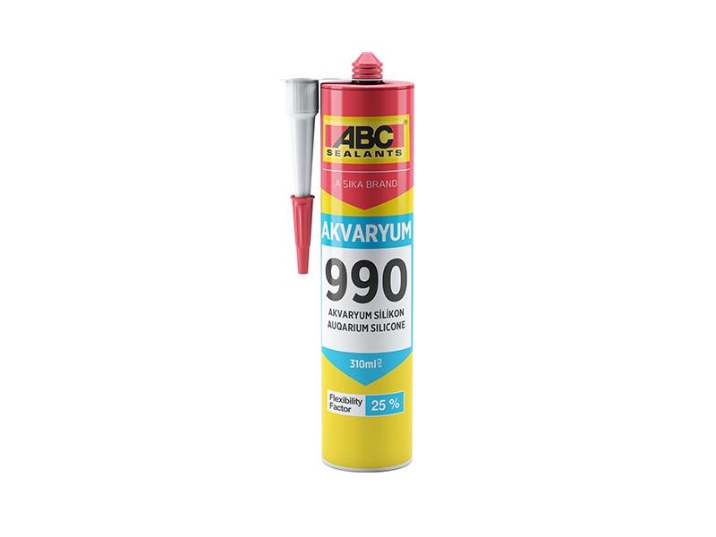 SILICON ACVARIU Transparent ABC 990/310 ml