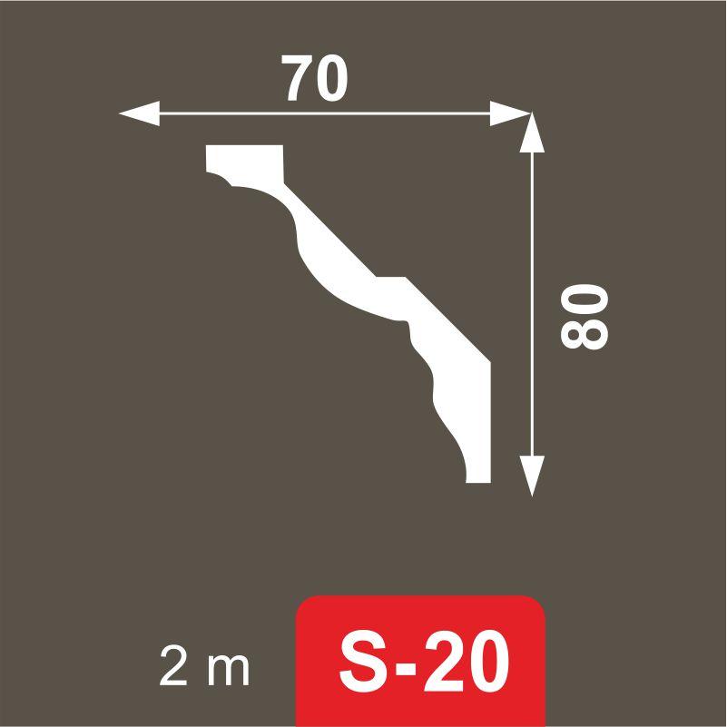 Bagheta Decostar (36 buc/cut) S-20