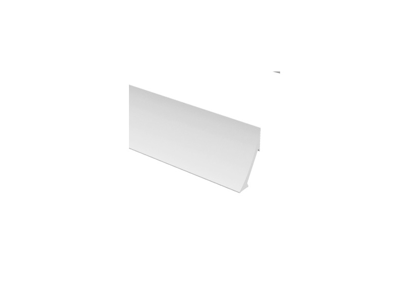 Profil intern 22 galteli, alb 2.75 m (25)