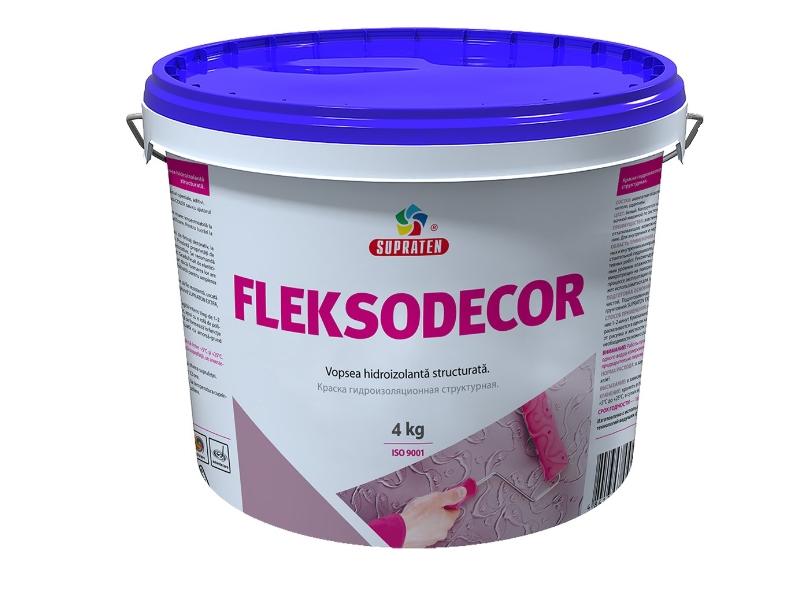 Vopsea ext. Flekso Decor 4 kg