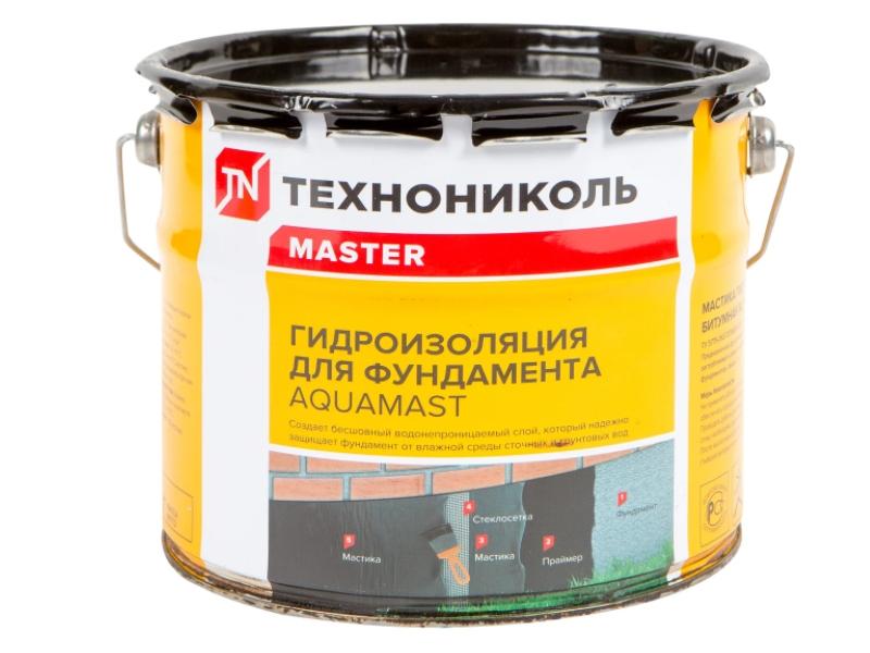 Mastica p/u hidroizolatie AquaMast fundament 18 kg