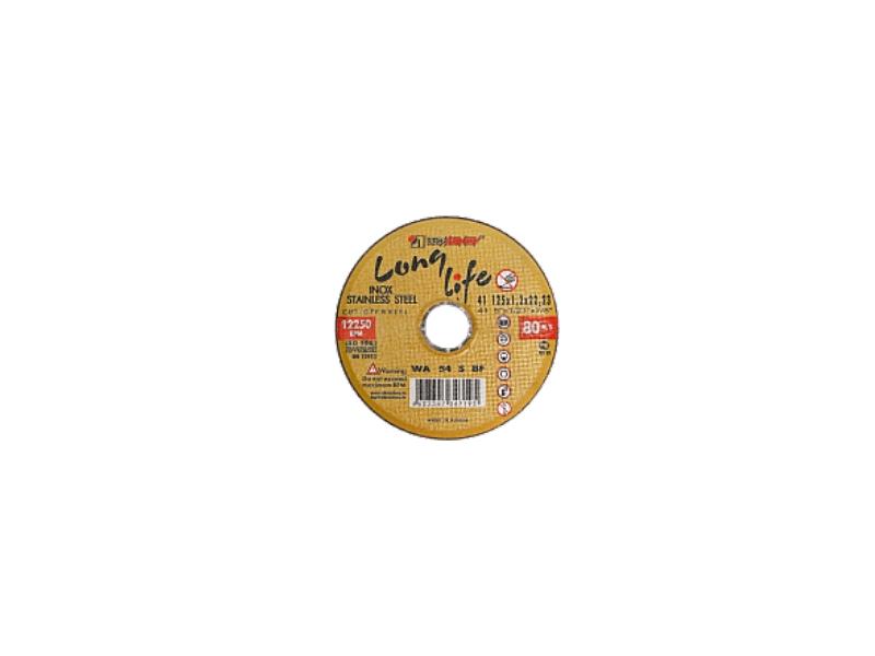 Disc 115*1.6*22.23 WA54 S BF 80 2 inox (galbene) Luga