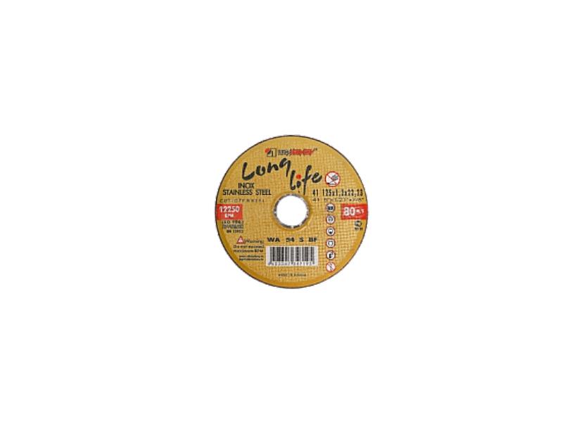 Disc 180*1.6*22.23 WA40 S BF 80 2 inox (galbene) Luga