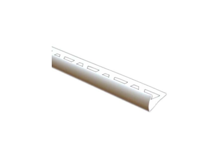 Profil PVC 2.5 m , extern p/u teracota 8 mm ( 1pac=10 buc )