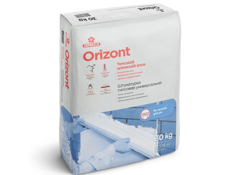 Orizont Tencuiala interior 30 kg ( 1 pal=48 sac)