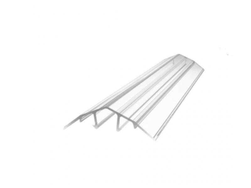 Profil HCP-D 4-10 mm coltar 6 m Transparent