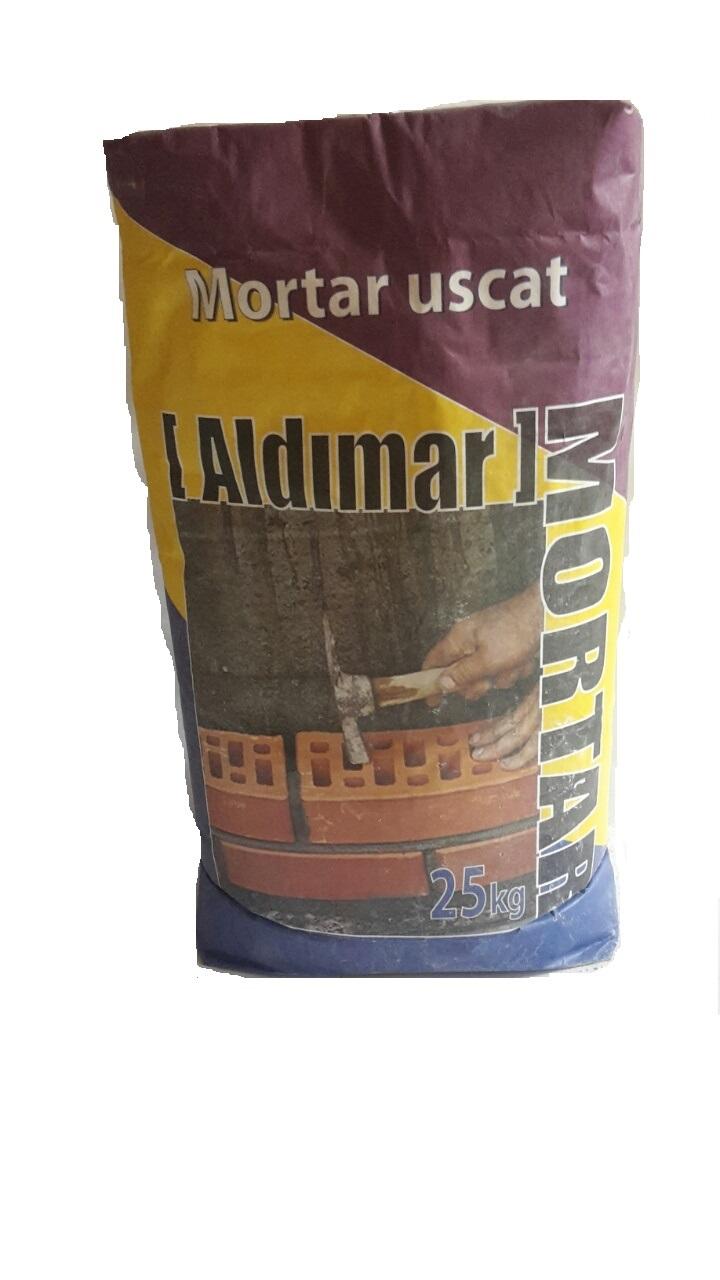 Amestec ciment+nisip Mortar Aldimar 25 kg (60 saci/pal)