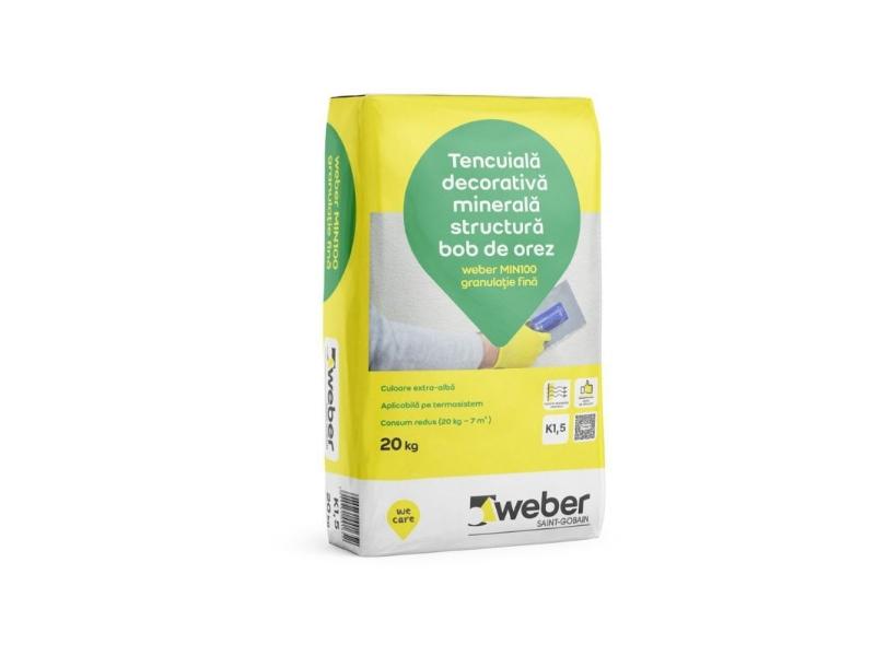 .Tinc Weber Min bob de orez K 1.5 mm 20 kg/sac (54/pal)
