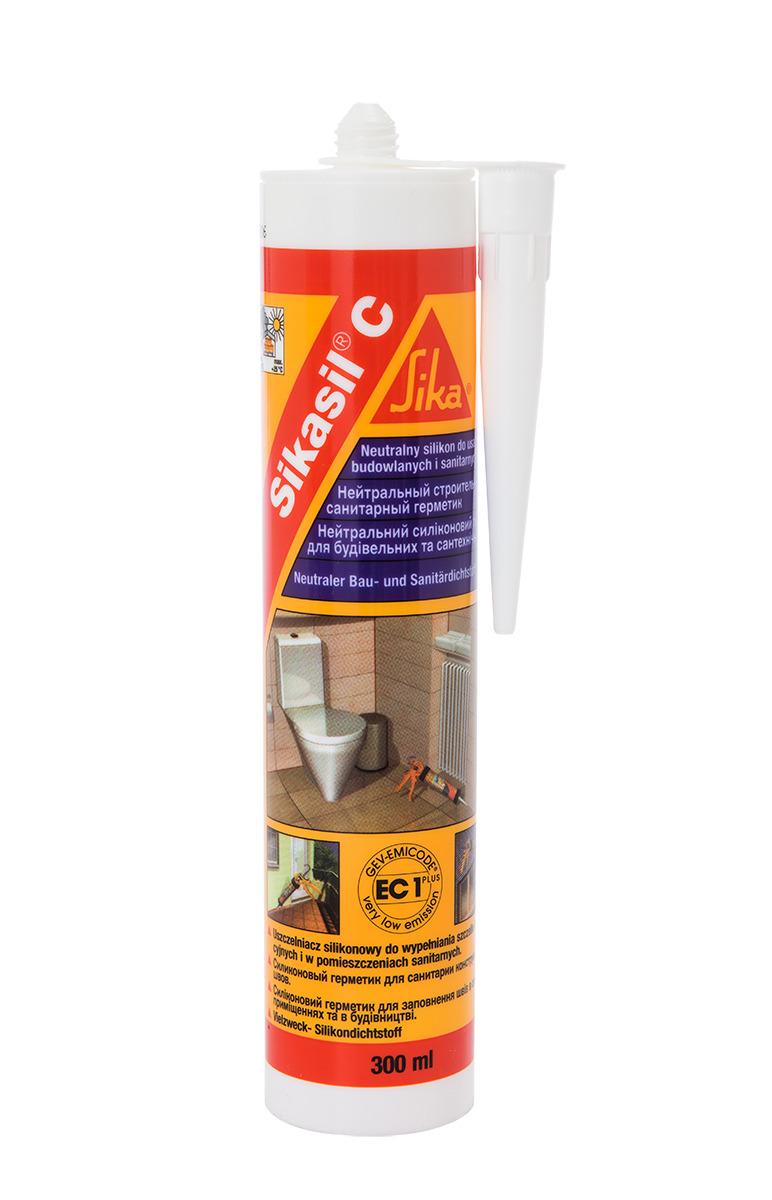 SILICON SANITAR TRANSPARENT Sikasil C neutral 300 ml