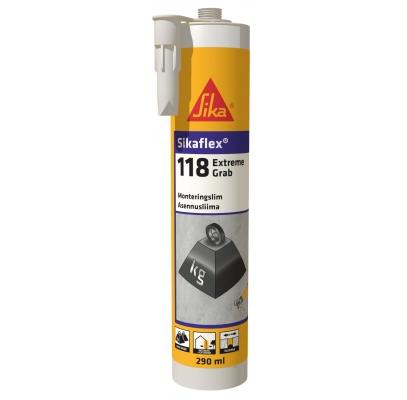 Cuie lichide alb Sikaflex 118 extrem mamut 290 ml