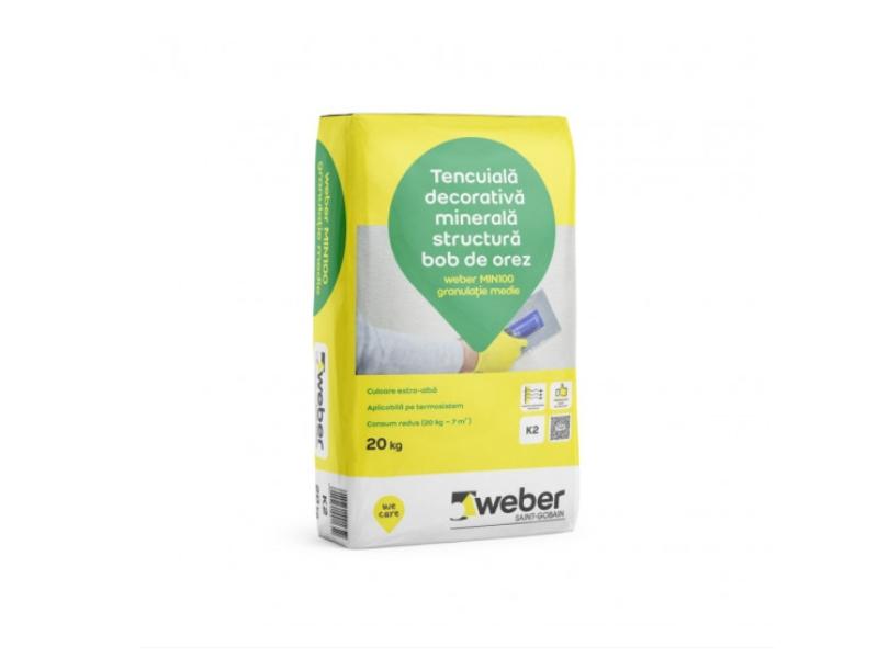 .Tinc Weber Min bob de orez R 3.0 mm 20 kg/sac (54/pal)