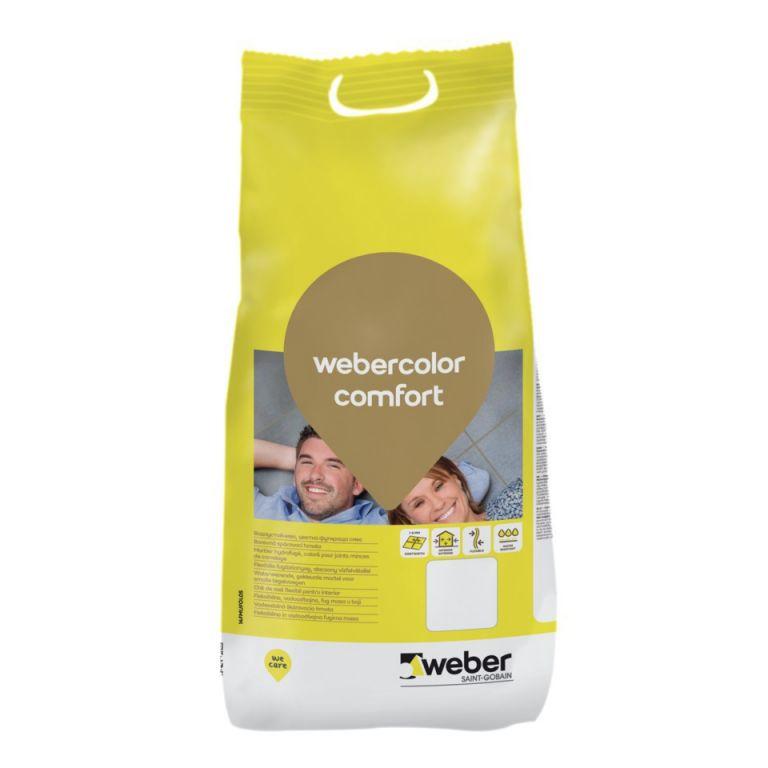 Chit pt rosturi Fuga Weber comfort pearl grey 5 kg (4/cut) G117