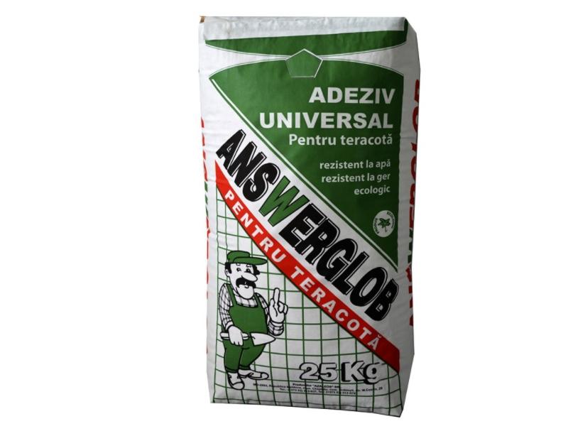 Answerglob universal 25 kg 1 pal= 42 saci, 250 grade termorezistent