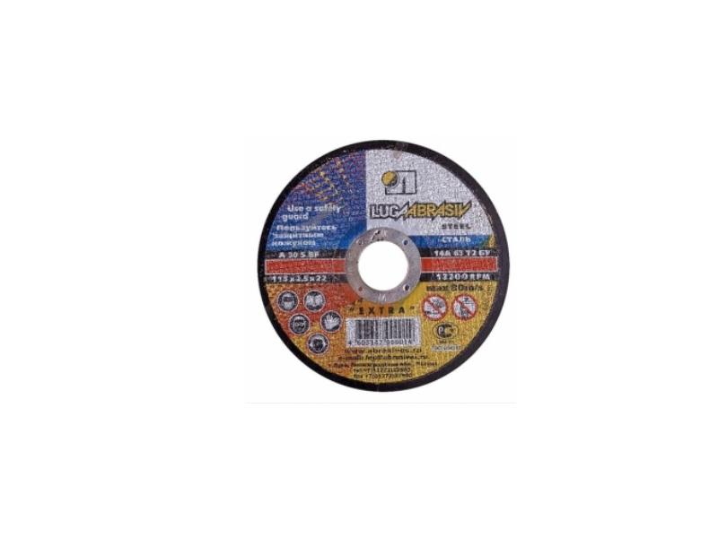 Disc 115*1.2*22.23 A54 S BF 80 2 ex metal Luga ( 25 buc/pac )