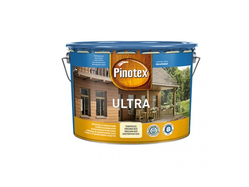 Lac Pinotex Ultra 10.0 L Tic тиковое дерево