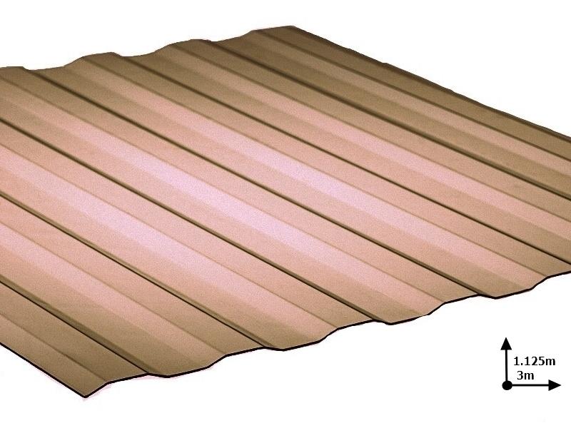 Ardezie PVC Ondex ECO fumuriu 3.0*1.125 m Plat (72/5)