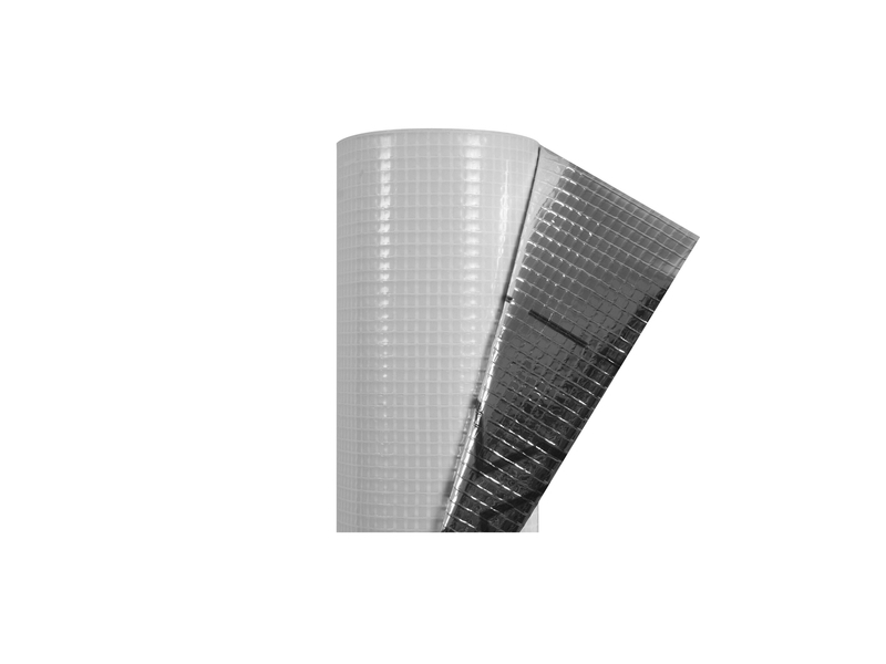 Folie Guttafol DS ALU (75m2/rul) 160 F 105gr Bariera de vapori+ALU