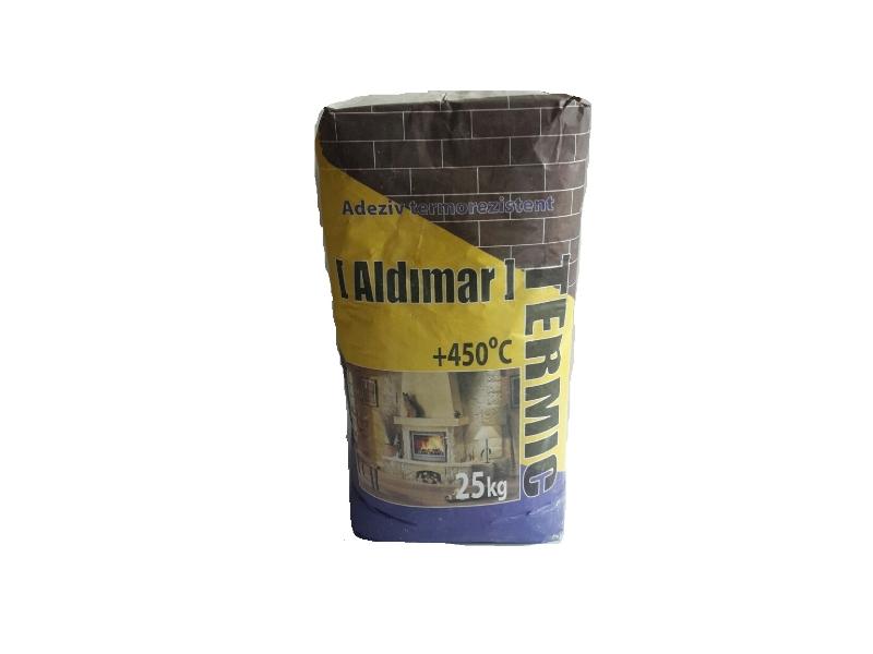 Aldimar Termic adeziv p/u teracota t 450*C 25 kg( 1pal =60 sac)