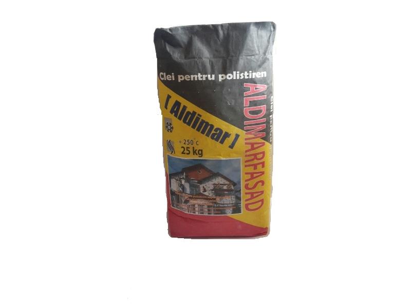 Aldimar Fasad adeziv p/u polistirol 25 kg ( 1pal =60 saci)