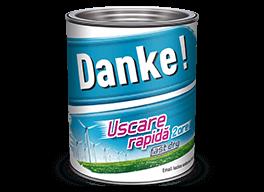 Email Danke ext/int. uscare rapida 0.75 L albastru inchis