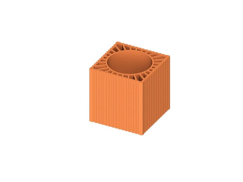 Canal de ventilare D 210 275*275*290 ( 64 buc/pal ) 1 buc=13,5 kg