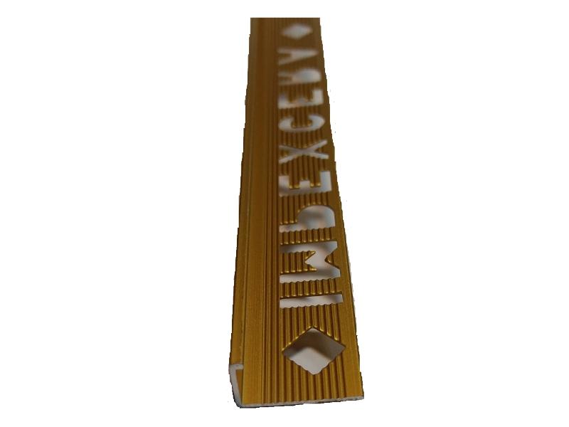 Profil alu. pt teracota 2.5m 10mm E10