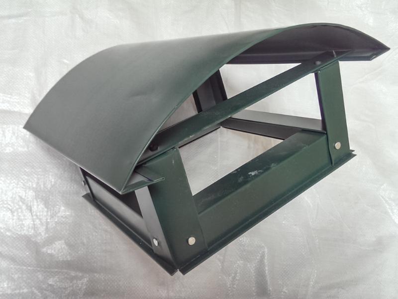 Capac rotund mare(d210) - verde