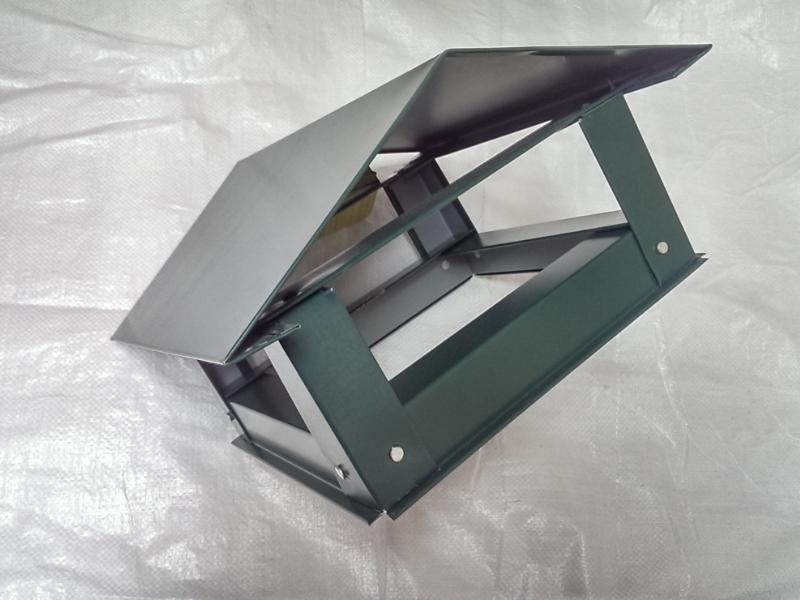 Capac triunghiular mare(d210)- verde