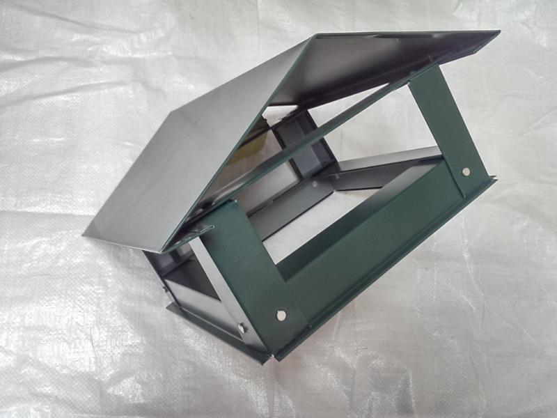 Capac triunghiular mic(d170)- verde